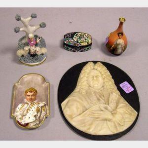 Five Assorted Decorative Items