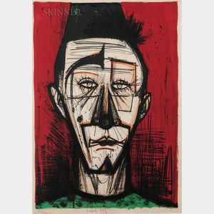 Bernard Buffet (French, 1928-1999)      Clown blanc