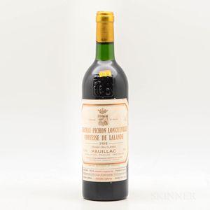 Chateau Pichon Lalande 1985, 1 bottle