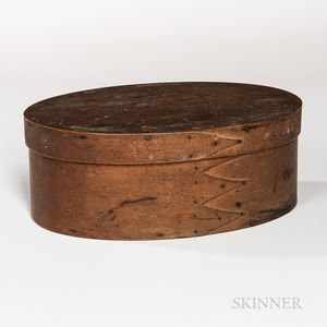 Shaker Oval Pantry Box