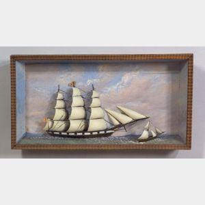 Glazed Ship Diorama