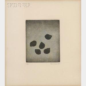 """Yozo Hamaguchi (Japanese, 1909-2000)      """"Mud Snails"""", 1960"""