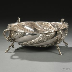 George III Sterling Silver Center Bowl