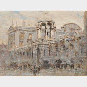 William Walcot (English, 1874-1943)      Queens College, Oxford