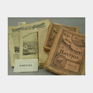 Group of 19th Century Periodicals.
