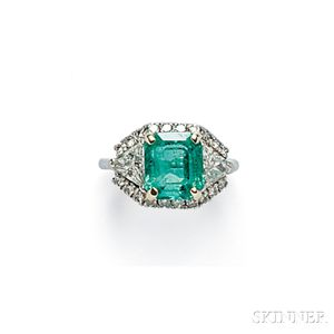 Emerald and Diamond Ring, Cartier