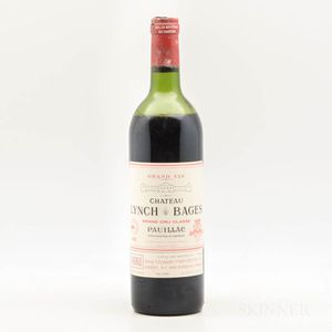 Chateau Lynch Bages 1982, 1 bottle