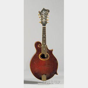 American Mandolin, Gibson Mandolin-Guitar Company, Kalamazoo, c. 1914, Model F-4