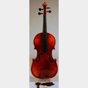 Modern Violin, Anton Schroetter Workshop, Mittenwald, c. 1970