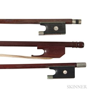 Viola da Gamba and Two Violin Bows