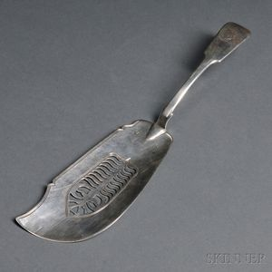 George IV Irish Silver Fish Server