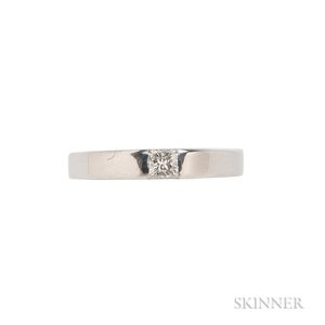 18kt White Gold and Diamond Ring, Cartier