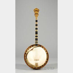 American Tenor Banjo, Epiphone Banjo Corporation, New York, c. 1930, Model Recording