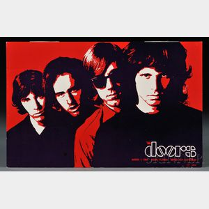 Sold for: $3,600 - The Doors March 1, 1969 Miami, Florida Dinner Key Auditorium   Concert   Poster