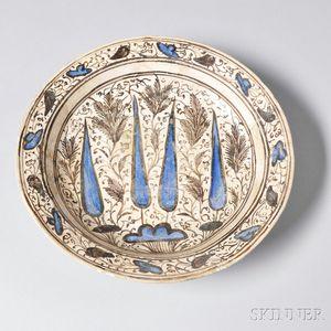 Kubachi Polychrome Plate