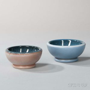 Two Wedgwood Norman Wilson Design Unique Ware Bowls