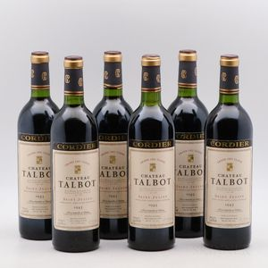 Chateau Talbot 1983, 6 bottles