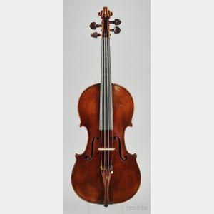American Violin, Ignatz Lutz, San Francisco, c. 1920