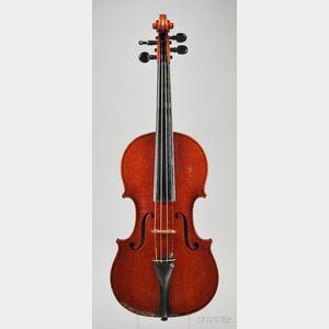 Italian Violin, Enzo Lassi, Faenza, 1954