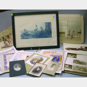 Group of Miscellaneous Ephemera, Decorative Items, and Collectibles