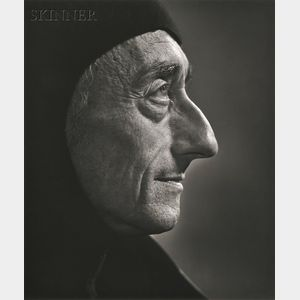 Yousuf Karsh (Canadian, 1908-2002)      Jacques Cousteau