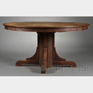 Arts & Crafts Gustav Stickley Dining Table