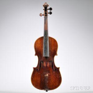 Seven-eighths Size German Violin