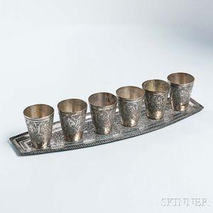 Silver Cordial Set