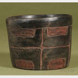 Pre-Columbian Blackware Bowl