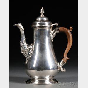English Sterling Silver Coffeepot