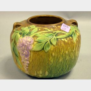 Roseville Pottery Wisteria Vase.