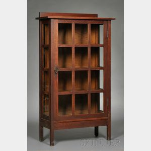 Gustav Stickley China Closet