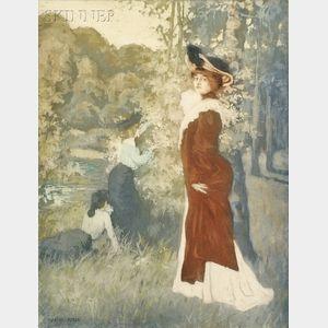 Manuel Robbe (French, 1872-1936)      Fleur d'Automne