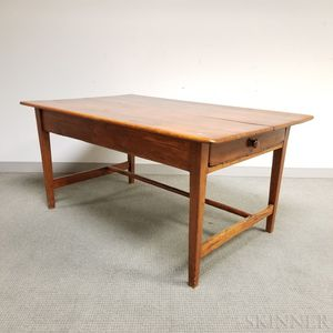 Federal Cherry One-drawer Tavern Table