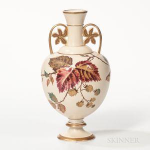 Wedgwood Ivory Vellum Vase