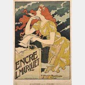 Eugène Grasset (French, 1841-1917)      Encre L. Marquet