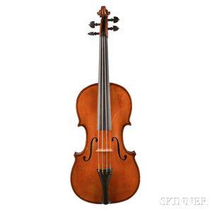 German Violin, Eduard Reichert, Dresden, 1911