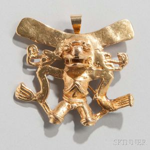 Pre-Columbian Gold Pendant
