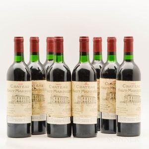 Chateau Marbuzet 1990, 8 bottles
