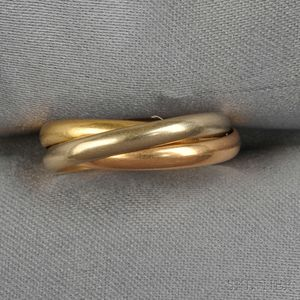 "18kt Gold ""Trinity"" Ring, Cartier"