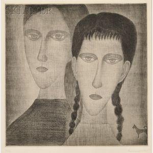 Yozo Hamaguchi (Japanese, 1909-2000)      Gypsy