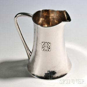 Kalo Shops Arts and Crafts Sterling Silver Pitcher