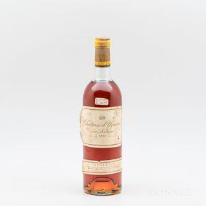 Chateau dYquem 1975, 1 bottle