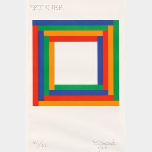 Max Bill (Swiss, 1908-1994)      System of Four Equal Colour Groups