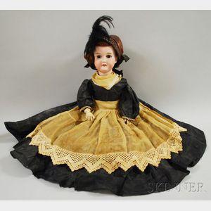 Armand Marseilles 390 Bisque Head Doll