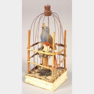 Caged Bird Squeak Toy