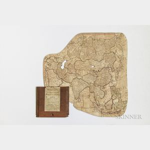 Wallis's New Dissected Map of Asia, Engraved from the Latest Authorities for the Use of Young Students in Geography.