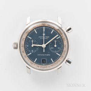 "Hamilton ""Chrono-matic"" Reference 11002-3 Wristwatch"