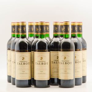 Chateau Talbot 1989, 12 bottles