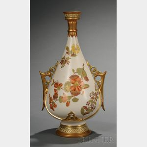Worcester Porcelain Persian-style Vase